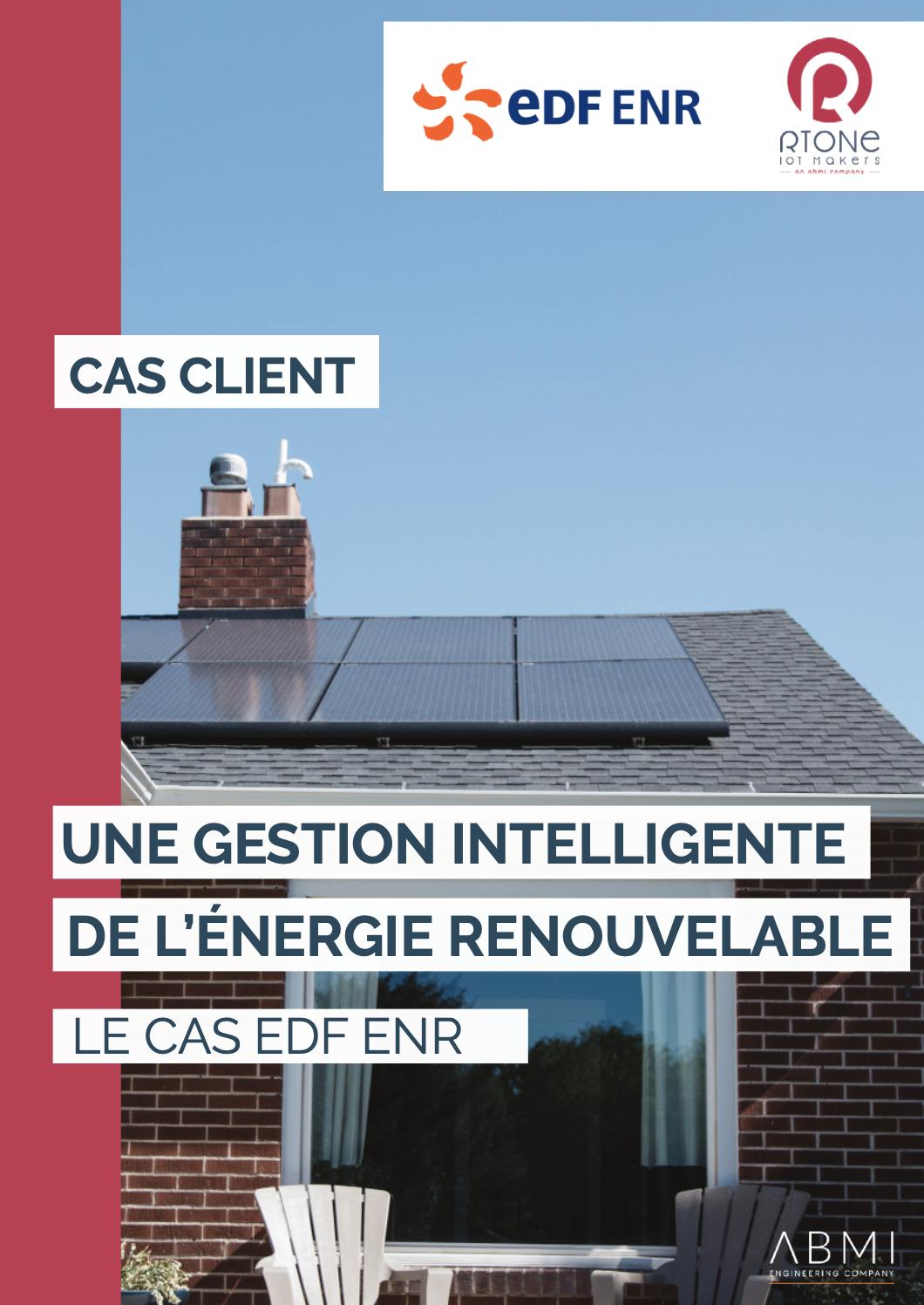 page 1 cas client EDF ENR
